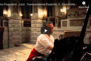 Liszt – Transcendental Étude No 5, Feux Follets – Pogorelich, Piano