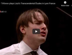 Liszt - Transcendental Étude No 5, Feux Follets - Trifonov, Piano