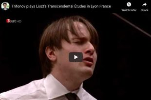 Liszt - Transcendental Étude No 5, Feux Follets - Trifonov, Piano