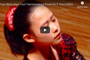 Liszt - Feux Follets - Wang, Piano