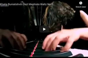Liszt – Mephisto Waltz No 1 in A Major – Buniatishvili, Piano