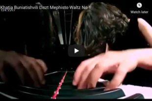 Liszt - Mephisto Waltz No. 1 - Buniatishvili, Piano