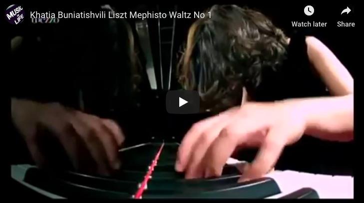 Liszt - Mephisto Waltz No 1 in A major - Buniatishvili, Piano