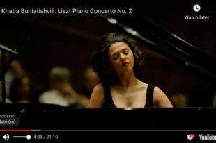 Liszt - Piano Concerto No. 2 - Khatia Buniatishvili