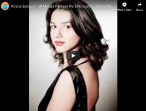 Mozart - Fantasia No 2 in C Minor - Buniatishvili, Piano