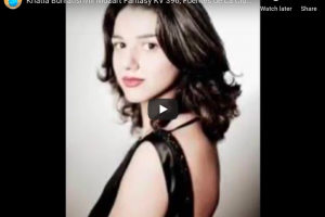 Mozart – Fantasia No 2 in C Minor – Buniatishvili, Piano