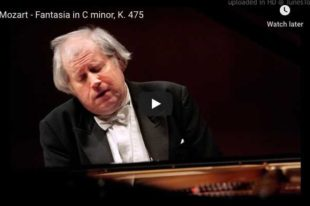 Mozart - Fantasy in C Minor - Sokolov, Piano