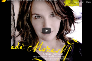 Mozart – Piano Concerto No 19 in F Major – Grimaud, Piano & Conductor
