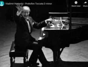 Prokofiev - Toccata in D Minor - Horowitz, Piano