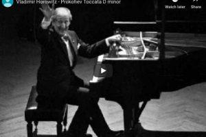Prokofiev – Toccata in D Minor – Horowitz, Piano