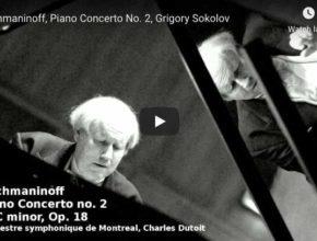Rachmaninoff - Concerto No 2 in C Minor- Sokolov, Piano