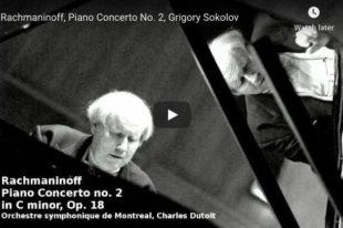 Rachmaninoff - Concerto No 2 in C Minor - Sokolov, Piano
