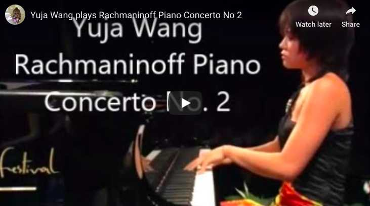 Rachmaninoff - Concerto No 2 in C Minor- Wang, Piano