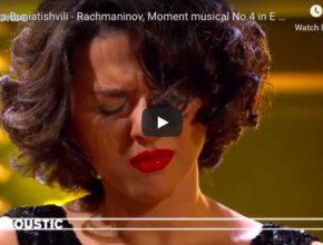 Rachmaninoff - Moment Musical No 4 - Khatia Buniatishvili, Piano