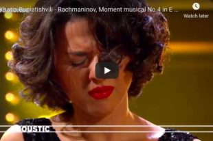 Rachmaninoff - Moment Musical No 4 - Buniatishvili, Piano