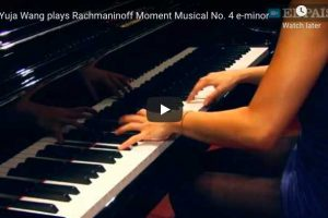 Rachmaninoff – Moment Musical No. 4 – Wang, Piano