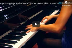 Rachmaninoff – Moment Musical No 4 – Wang, Piano