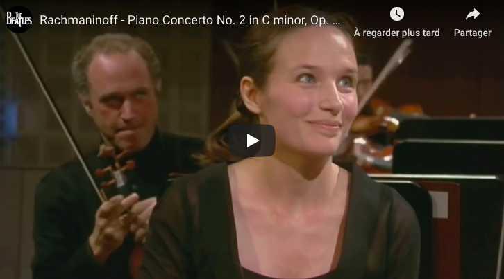 Rachmaninoff - Concerto No 2 - Grimaud, Piano; Abbado, Conductor