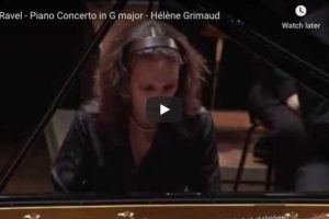 Ravel – Piano Concerto in G Major – Grimaud, Piano