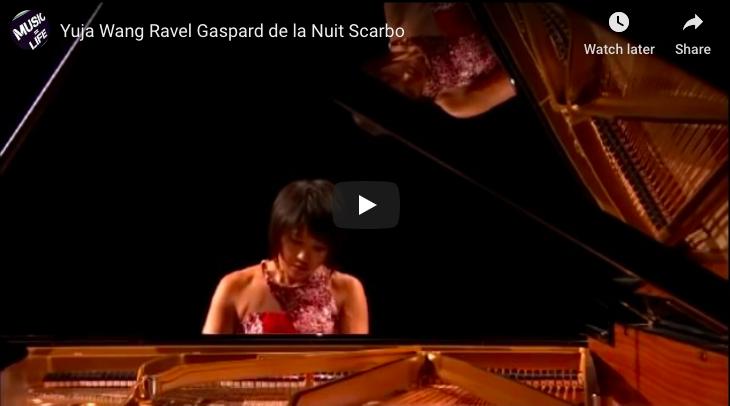 Ravel - Scarbo - Yuja Wang, Piano
