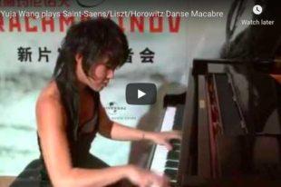 Saint-Saëns/Liszt/Horowitz - Danse Macabre - Wang, Piano