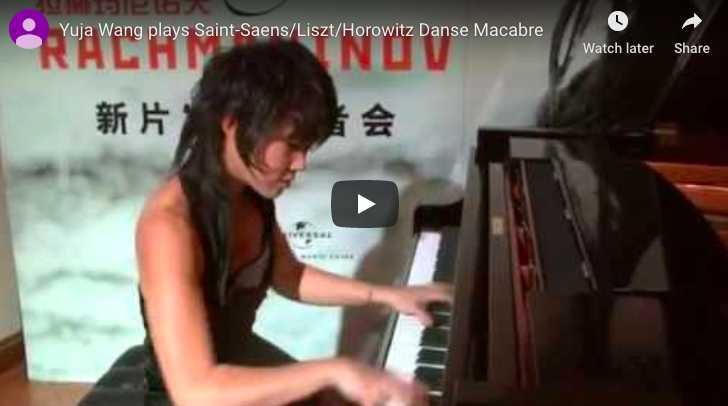 Saint-Saëns / Liszt / Horowitz - Danse Macabre - Wang, Piano
