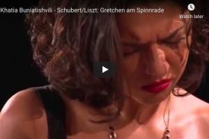 Schubert-Liszt – Gretchen am Spinnrade – Buniatishvili, Piano