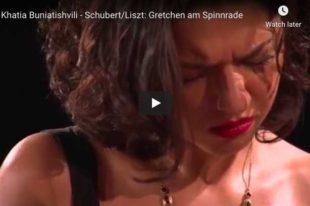 Schubert-Liszt - Gretchen am Spinnrade - Buniatishvili, Piano