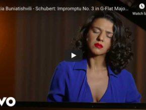 Schubert - Impromptu Op 90 No 3 in G-Flat Major - Buniatishvili, Piano