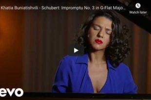 Schubert - Impromptu Op 90 No 3 - Buniatishvili, Piano
