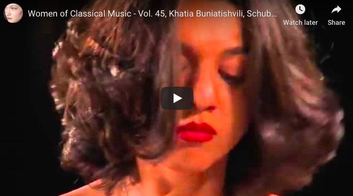 Schubert-Liszt - Erlkönig (Elf King) - Buniatishvili, Piano