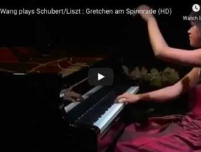 Schubert-Liszt - Gretchen am Spinnrade - Wang, Piano