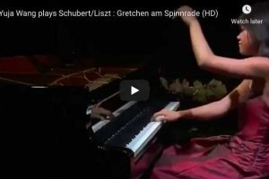 Schubert-Liszt – Gretchen am Spinnrade – Wang, Piano