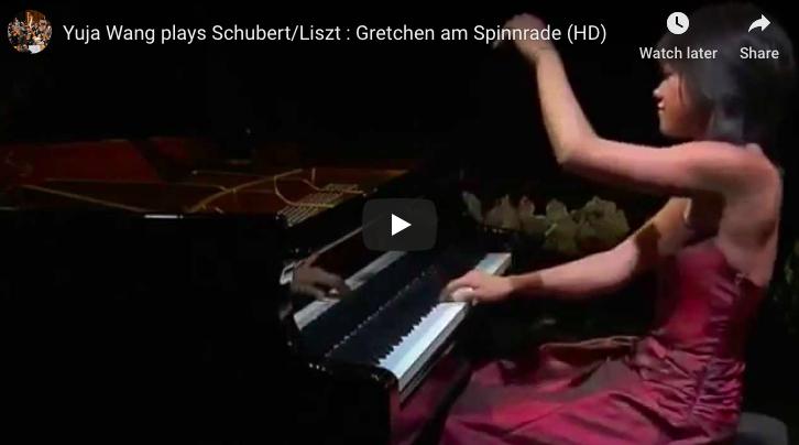 Schubert-Liszt - Gretchen am Spinnrade - Wang, Piano