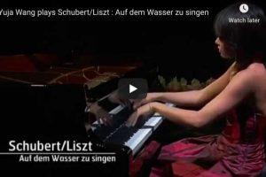 Schubert-Liszt – Auf dem Wasser zu Singen – Wang, Piano