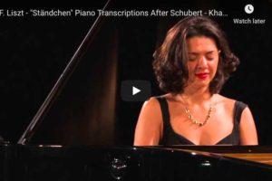 Schubert-Liszt – Ständchen (Serenade) – Buniatishvili, Piano