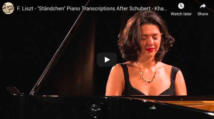 Schubert-Liszt - Ständchen (Serenade) - Buniatishvili, Piano