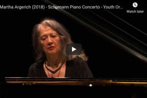 Schumann – Piano Concerto in A Minor- Martha Argerich