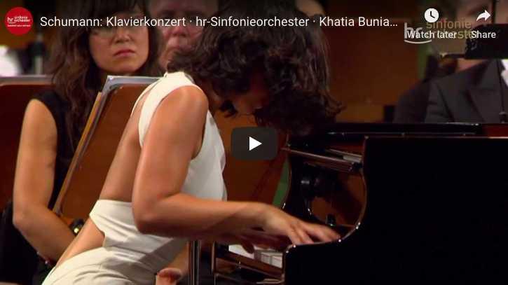 Schumann - Piano Concerto in A Minor - Buniatishvili, Piano