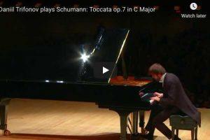 Schumann – Toccata in C Major – Trifonov, Piano