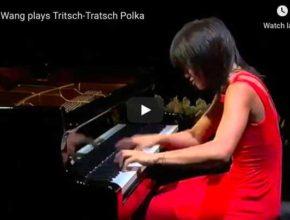 Strauss-Cziffra - Tritsch-Tratsch-Polka - Wang, Piano