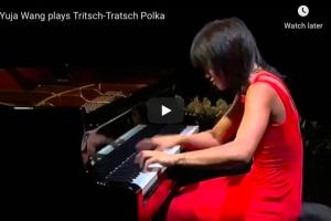 Strauss-Cziffra – Tritsch-Tratsch-Polka – Wang, Piano