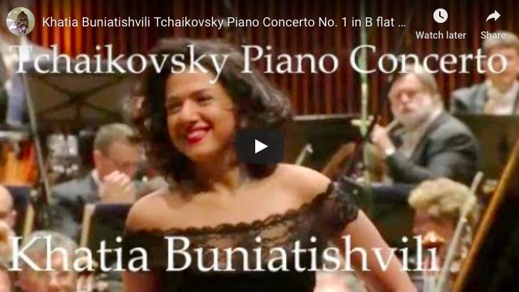 Tchaikovsky - Piano Concerto No 1 - Buniatishvili, Piano