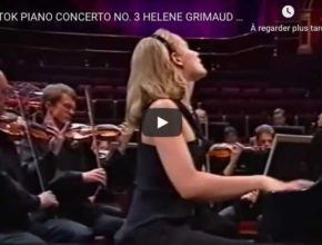 Bartok - Piano Concerto No 3 - Grimaud, Piano