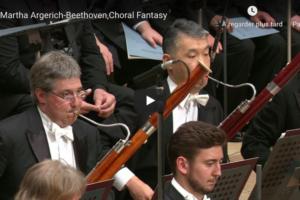 Beethoven – Choral Fantasy – Argerich, Piano; Ozawa, Conductor