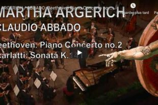 Beethoven - Piano Concerto No. 2 - Argerich; Abbado