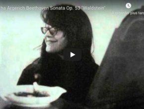 Beethoven - Piano Sonata No 21 in C Major (Waldstein) - Argerich, Piano