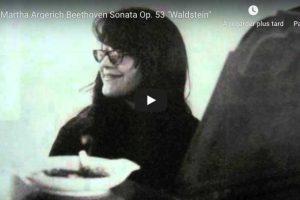 Beethoven – Sonata No. 21 (Waldstein) – Argerich, Piano
