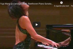 Beethoven - Sonata No. 29 (Hammerklavier) - Yuja Wang, Piano