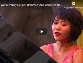 Brahms - Piano Concerto No 1 - Wang, Piano